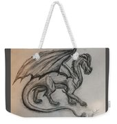 Dragon On The Move Weekender Tote Bag