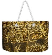 Dragon Pattern Weekender Tote Bag by Setsiri Silapasuwanchai