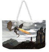 Dragon Scenery - 3d Render Weekender Tote Bag