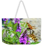 Dragonflies In Summer Weekender Tote Bag