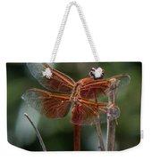 Dragonfly 9 Weekender Tote Bag