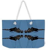 Dragonfly Composite Color Weekender Tote Bag