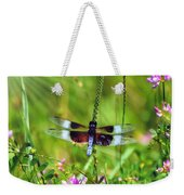Dragonfly Delight Weekender Tote Bag