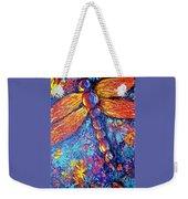 Dragonfly F Weekender Tote Bag