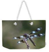 Dragonfly Hanging On  Weekender Tote Bag