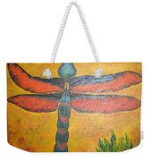 Dragonfly In Flight Weekender Tote Bag