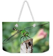 Dragonfly In The Flower Garden Weekender Tote Bag