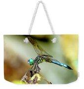 Dragonfly Landing Weekender Tote Bag
