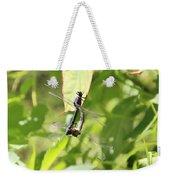 Dragonfly Love Weekender Tote Bag