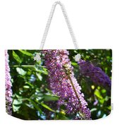 Dragonfly On The Butterfly Bush Weekender Tote Bag