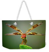 Dragonfly Pitstop Weekender Tote Bag