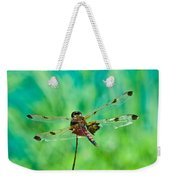 Dragonfly Rear Approach Weekender Tote Bag