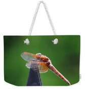 Dragonfly Red Weekender Tote Bag