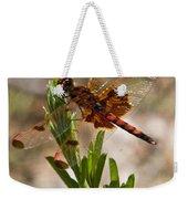 Dragonfly Resting 2 Weekender Tote Bag