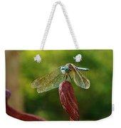 Dragonfly Resting II Weekender Tote Bag