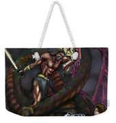 Dragonslayer N Damsel Weekender Tote Bag