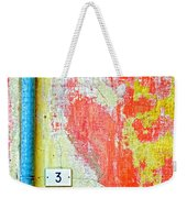 Drainpipe Amazing Wall And Number Three Weekender Tote Bag
