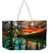 Drama Of The Canadian Rockies Weekender Tote Bag