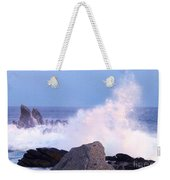 Drama Of The Rocky Shore Weekender Tote Bag