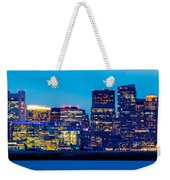 Dramatic Boston Skyline  Weekender Tote Bag