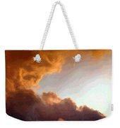 Dramatic Cloud Painting Weekender Tote Bag