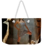 Dramatic Fashion Pose Weekender Tote Bag