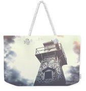 Dramatic Lighthouse Weekender Tote Bag