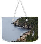Dramatic Maine Coastline Weekender Tote Bag