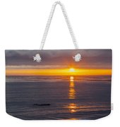 Dramatic Ocean Reflection Of Color Weekender Tote Bag