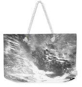Dramatic Sky Bw Weekender Tote Bag