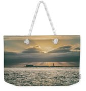 Dramatic Sky Over Hurst Castle Weekender Tote Bag