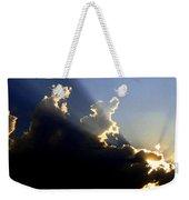 Dramatic Sunburst Weekender Tote Bag