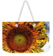Dramatic Sunflower Weekender Tote Bag