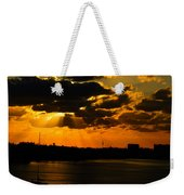 Dramatic Sunrise At Nassau Weekender Tote Bag