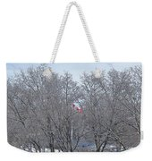 Drapeau Canadien / Canadian Flag Weekender Tote Bag