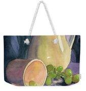 Drapes And Grapes Weekender Tote Bag