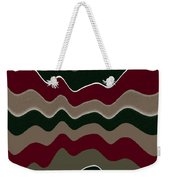 Draw The Line Original Abstract Expressionism Art Painting. Weekender Tote Bag