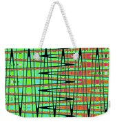 Drawing Abstract #5984wtct Weekender Tote Bag