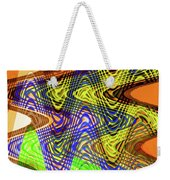 Drawing Color Squares Abstract Weekender Tote Bag
