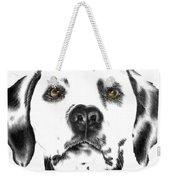 Drawing Of A Dalmatian Dog Weekender Tote Bag