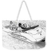 Drawing The Boat Weekender Tote Bag