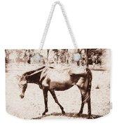 Drawn Ranch Horse Weekender Tote Bag