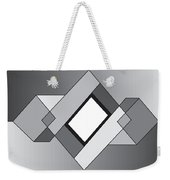 Drawn2shapes10bnw Weekender Tote Bag