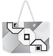 Drawn2shapes4bnw Weekender Tote Bag