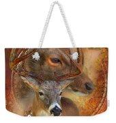 Dream Catcher - Autumn Deer Weekender Tote Bag