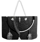 Dream Catcher Black White Weekender Tote Bag