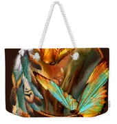 Dream Catcher - Spirit Of The Butterfly Weekender Tote Bag