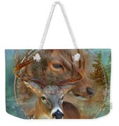Dream Catcher - Spirit Of The Deer Weekender Tote Bag