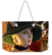 Dream Girl With Hat And Pearls Weekender Tote Bag
