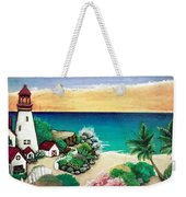 Dream Light House Weekender Tote Bag